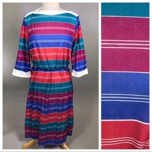 Vintage 80s Casual Dress